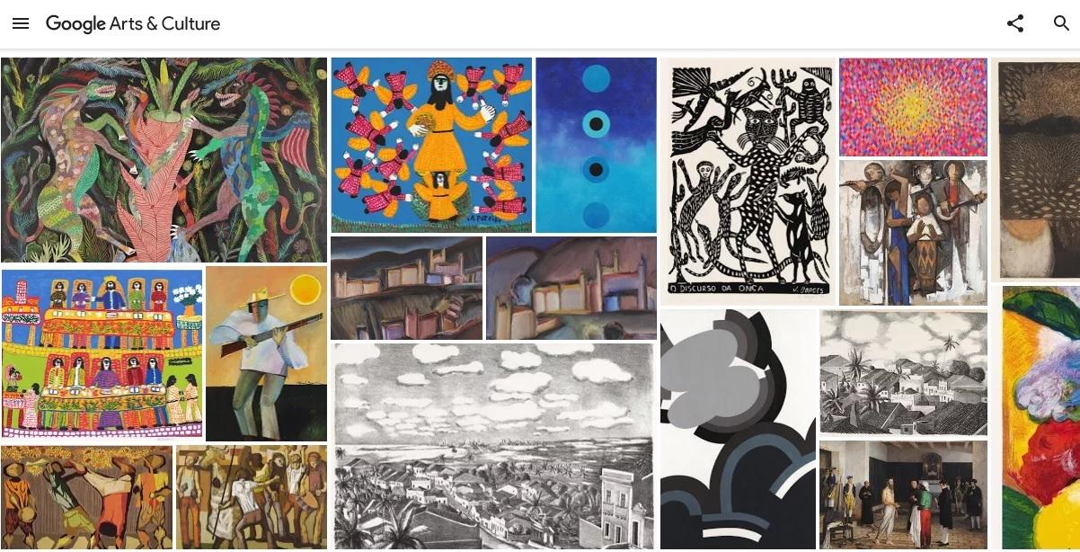 Visita virtual já está disponível no Google Arts & Culture - Divulgação/Google/ND