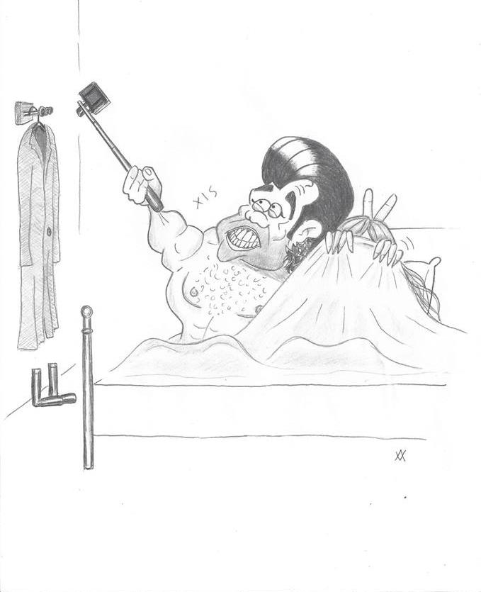 Desenhos bem humorados  são obra do chargista catarinense Alvaro de Vasconcellos - Divulgação/ND