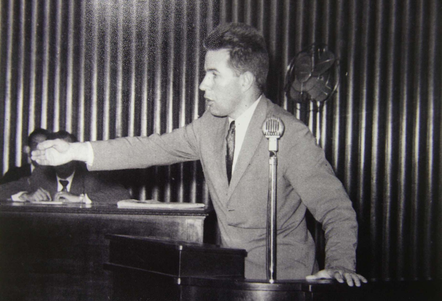 Stuart Wright foi eleito deputado estadual em 1963, pelo PSP (Partido Social Progressista), mas foi cassado meses depois, acusado de falta de decoro, por pressão dos militares - Agência AL/Reprodução/ND