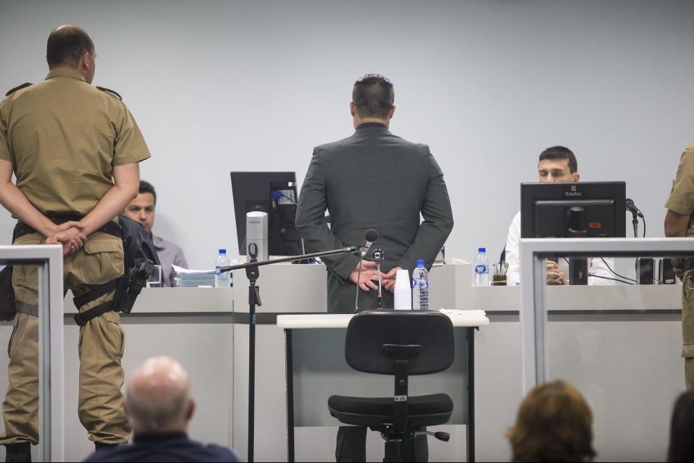 Ex-policial militar Luíz Mota Brentano é acusado de matar o surfista Ricardinho - Flávio Tin/ND