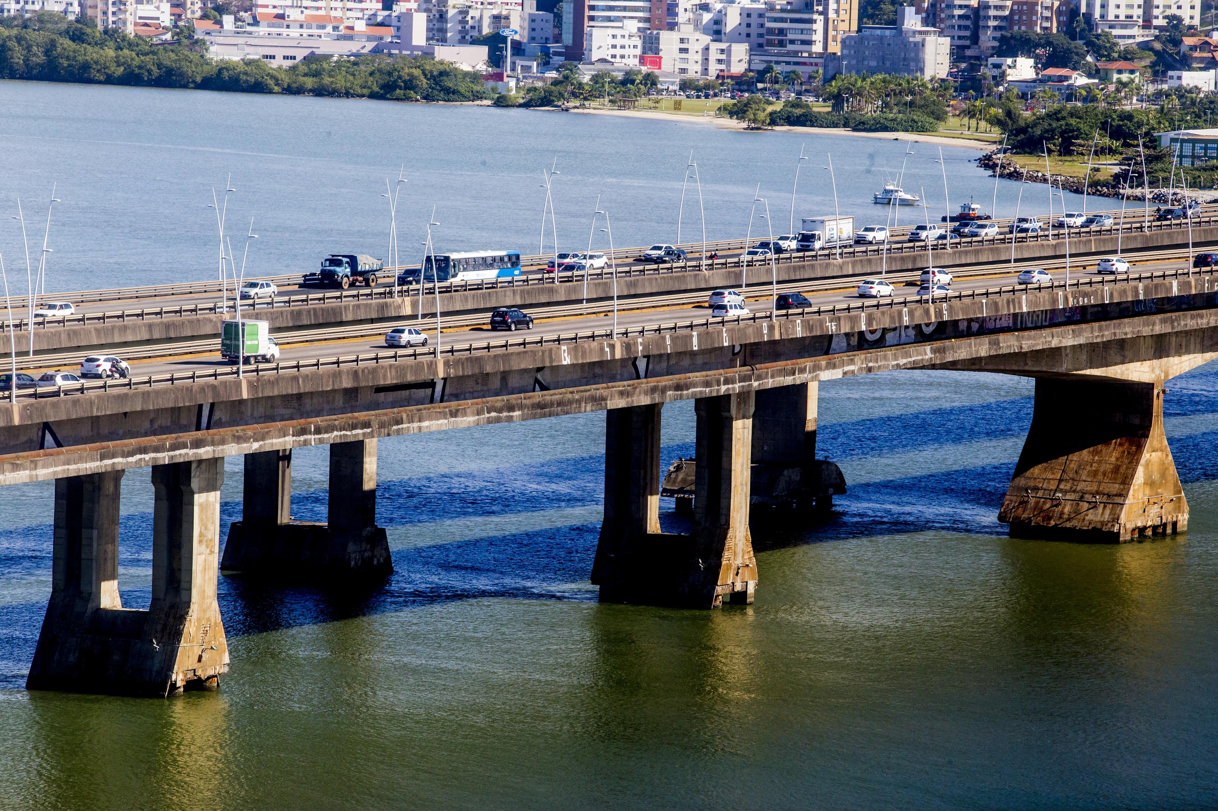 Projeto do Deinfra para a manutenção das pontes prevê gasto de R$ 29 milhões e prazo de três anos para conclusão - Flávio Tin/ND