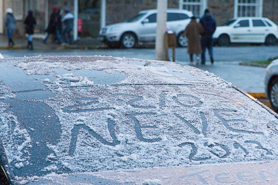São Joaquim foi um dos municípios que atraiu grande parte dos amandes do frio - Flávio Tin/Arquivo/ND