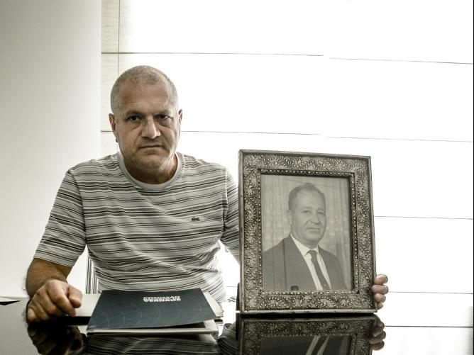 Júlio Cesar Pio, filho de Higino João Pio tinha 14 anos quando o pai morreu - Daniel Queiroz/Arquivo/ND