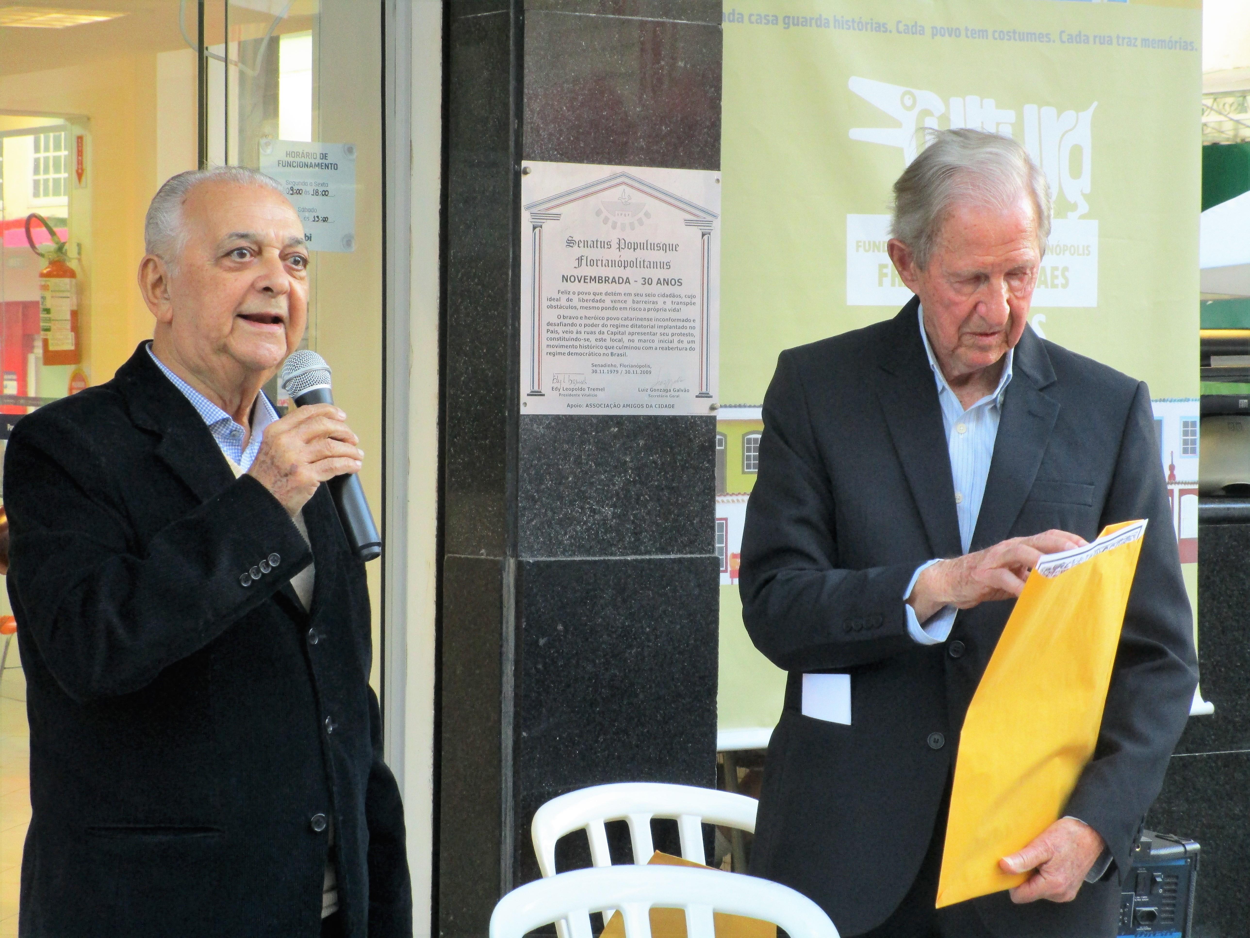 Jorge Seara Polidoro, o Estimado, 83 anos, um dos novos senadores honorários - Carlos Damião