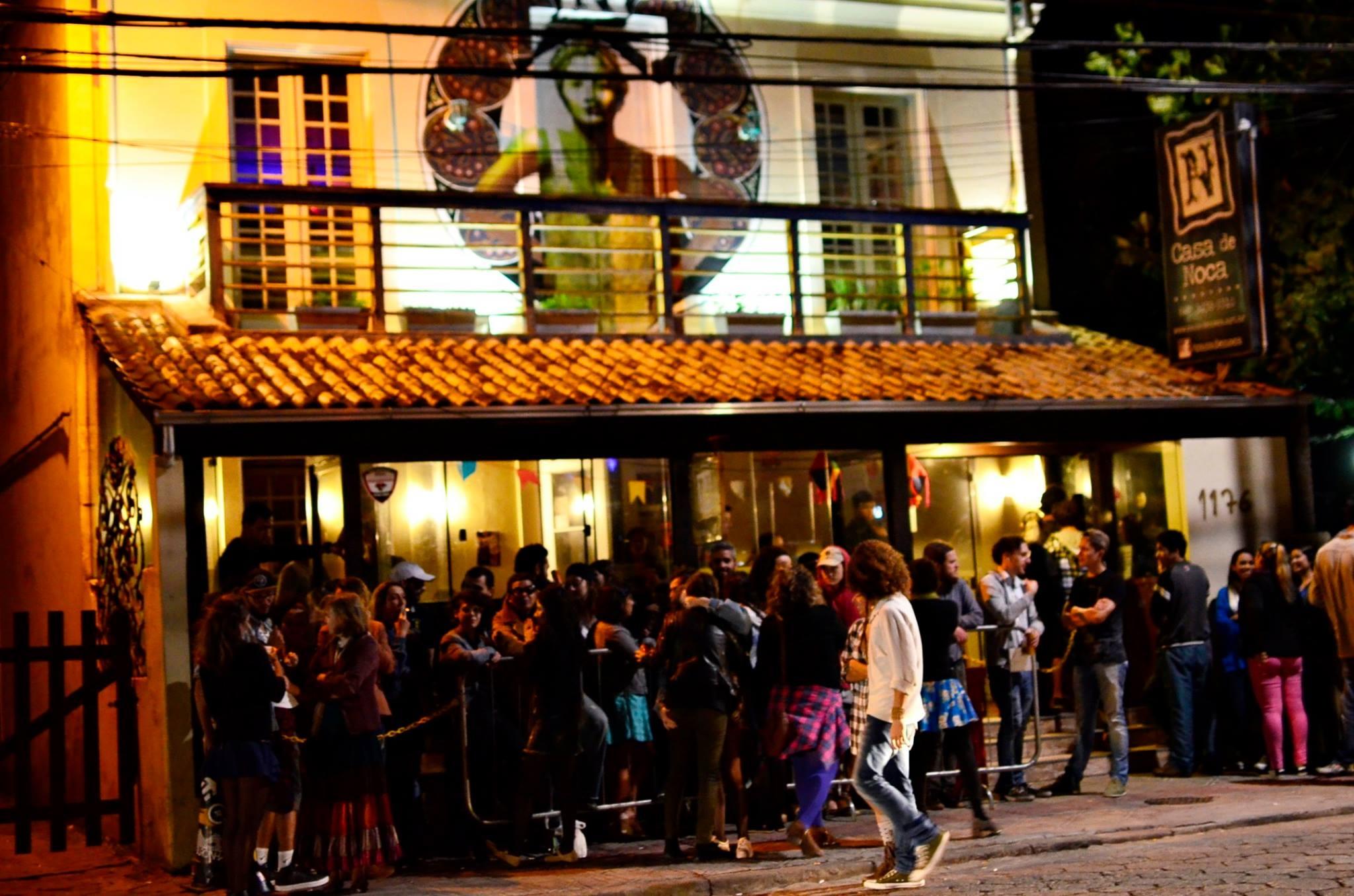 Na Casa de Noca, na Lagoa, a entrada grátis para mulheres deixou de ser praticada em 2012 - Divulgação/ND