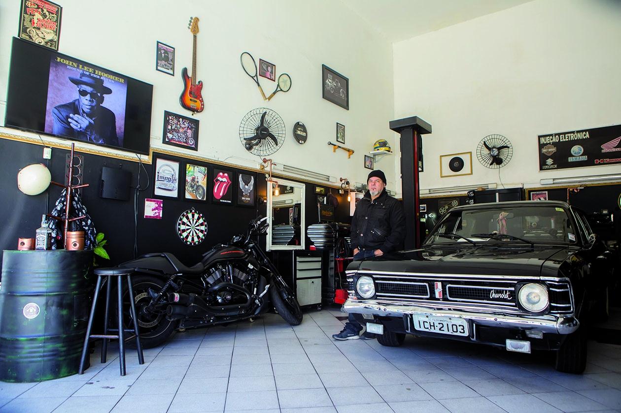 Airton Nunes, da Gasoline Custom - Flavio Tin/ND