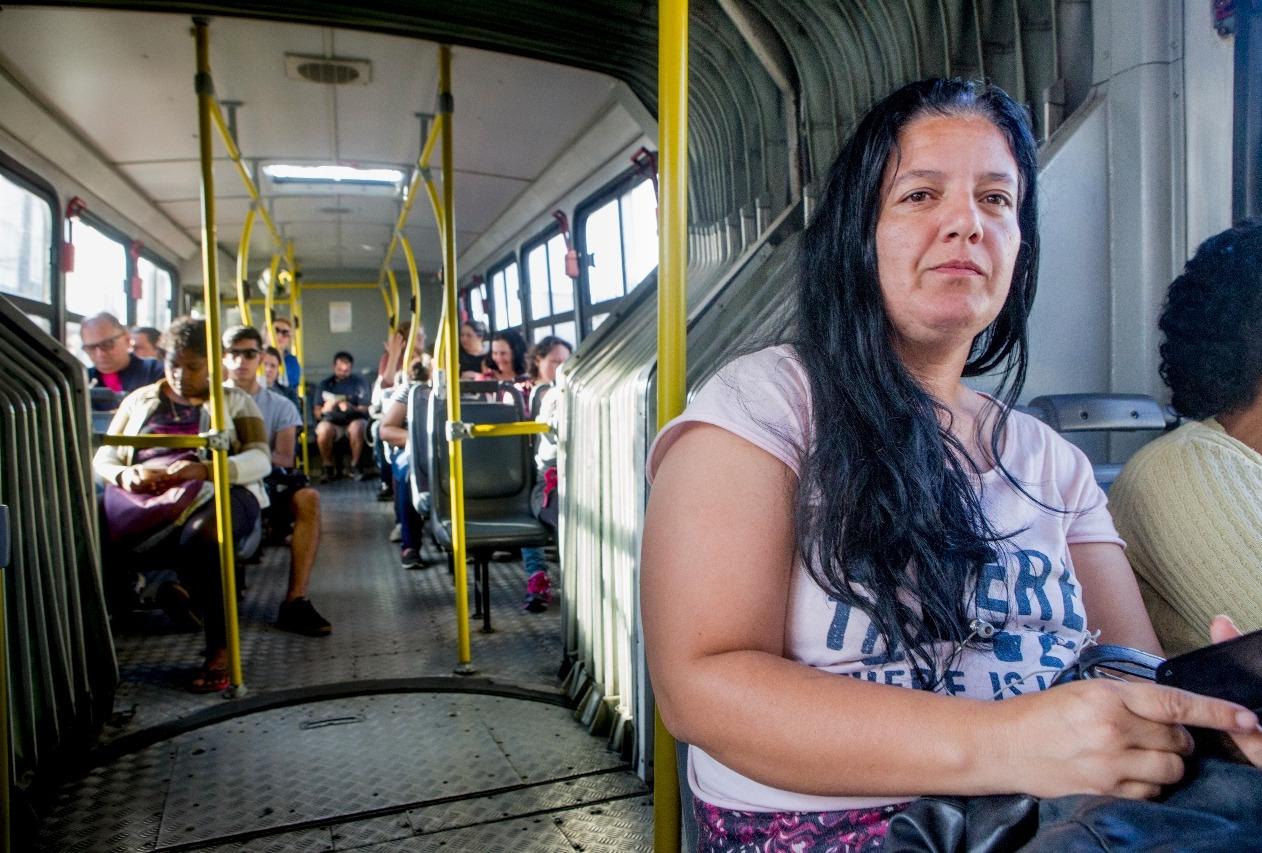 Lisiana critica a manutenção dos veículos - Flávio Tin/ND