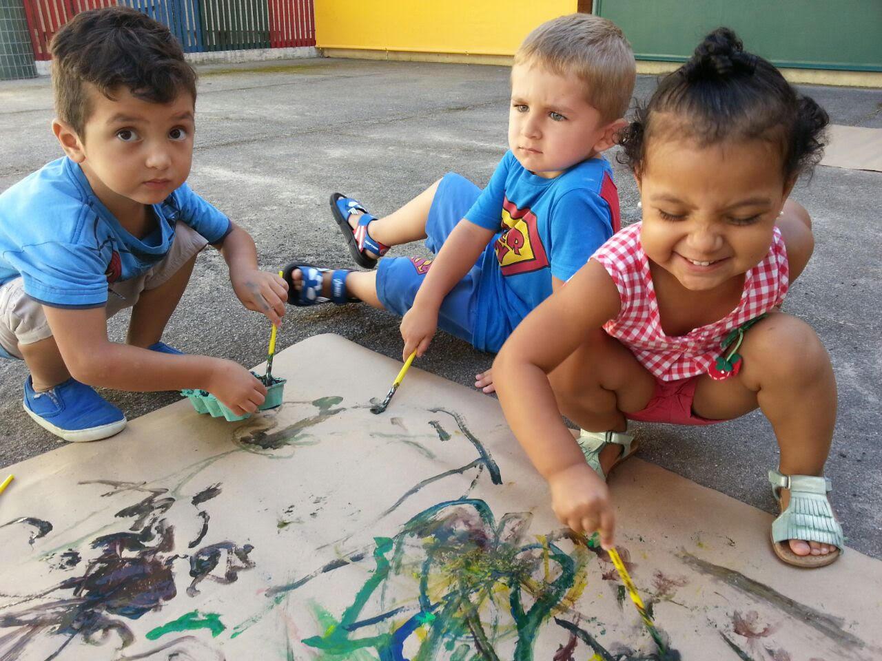 Cerca de mil crianças ainda esperam por vagas nas creches de Blumenau– Foto: PMF/Divulgação/ND