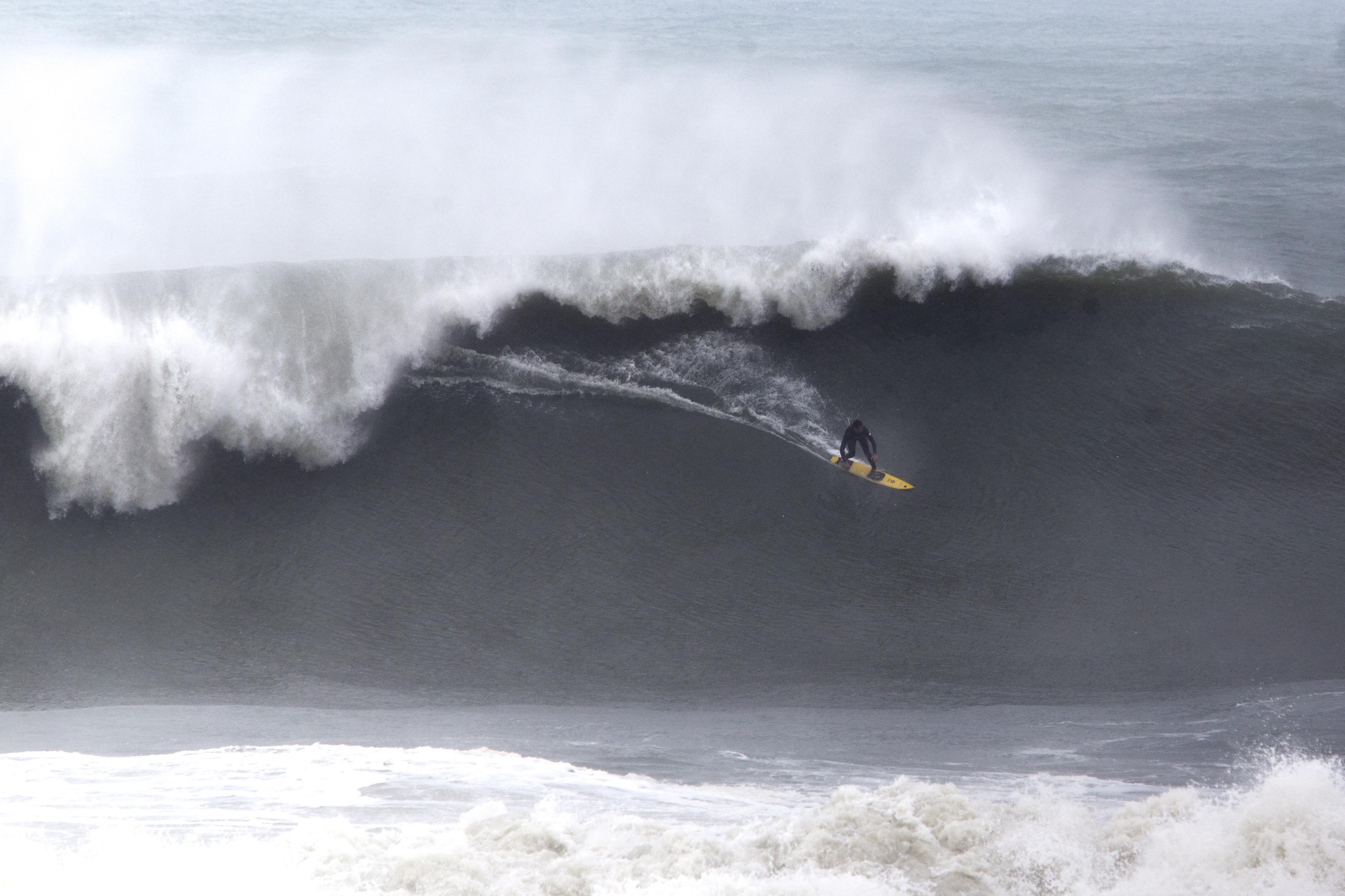 Samuel e os amigos de Criciúma saíram de Criciúma para surfar na Joaca - Flávio Tin/ND