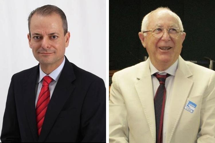 Eduardo Gallo e Felisberto Odilon Córdova - Divulgação/ND