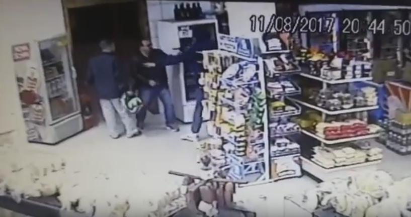 Policial militar é morto durante assalto a padaria em Florianópolis - Reprodução