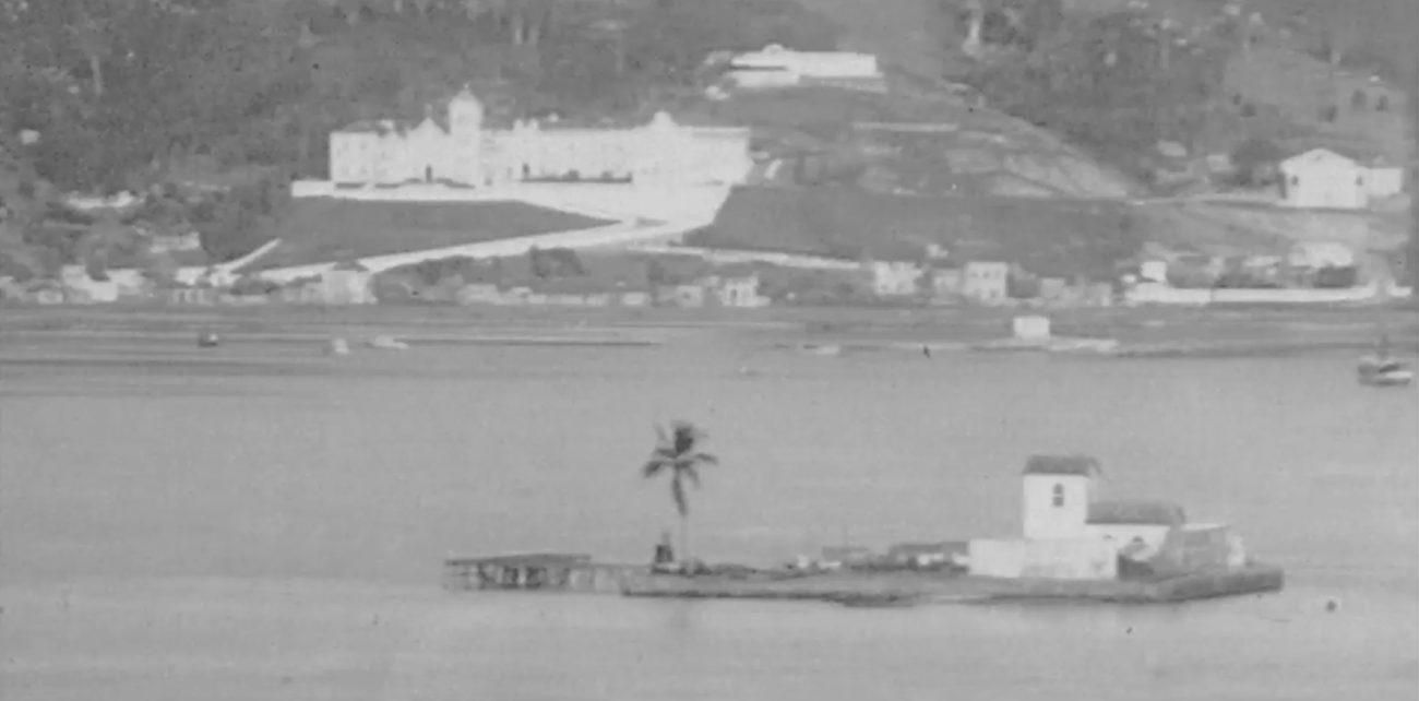 Pequena ilha era utilizada para receber cargas de carvão - Reprodução/Ilha do Carvão/ND