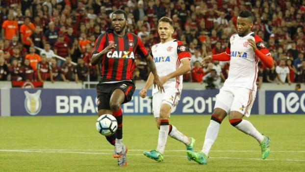 Último confronto entre as duas equipes foi no primeiro turno e o resultado foi 1 a 1, na Arena da Baixada  -  Guilherme Artigas/ Agência Lancepress!