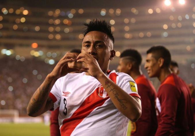 Cueva marcou golaço pelo Peru na última quinta  -  Divulgação/Seleção Peruana