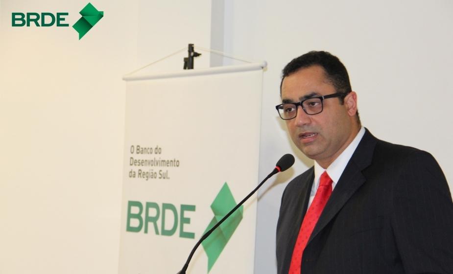 Superintendente do BRDE, Nelson Ronnie - Foto/Divulgação BRDE