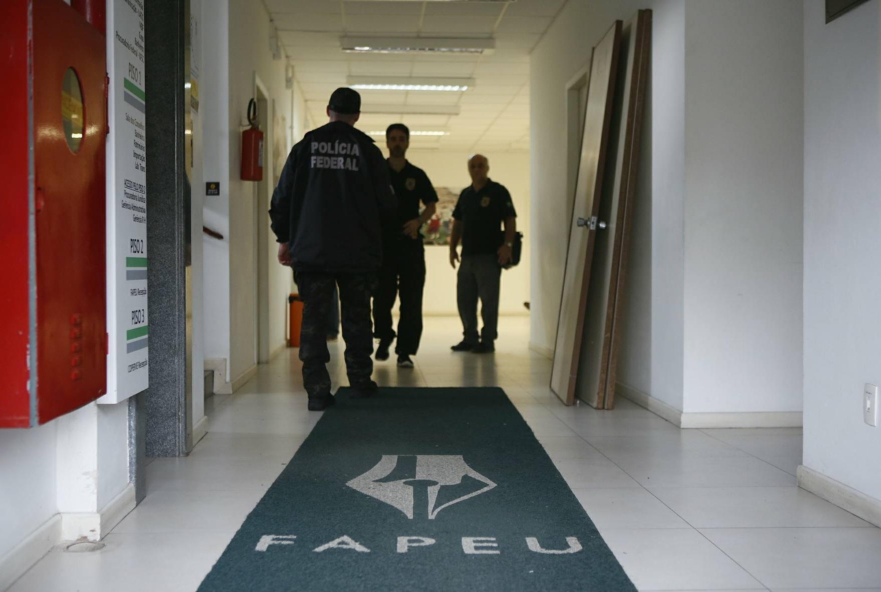 O prédio da Fapeu é um dos locais onde a PF faz buscas e apreensão - Daniel Queiroz/ND