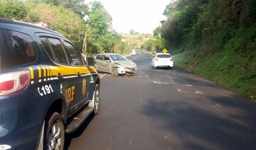 Foram apenas dois acidentes fatais nas rodovias federais neste feriadão - PRF/Divulgação/ND