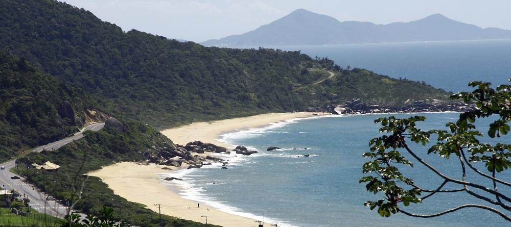 A praia de Taquaras, em Balneário Camboriú - Celso Peixoto/Arquivo/ND