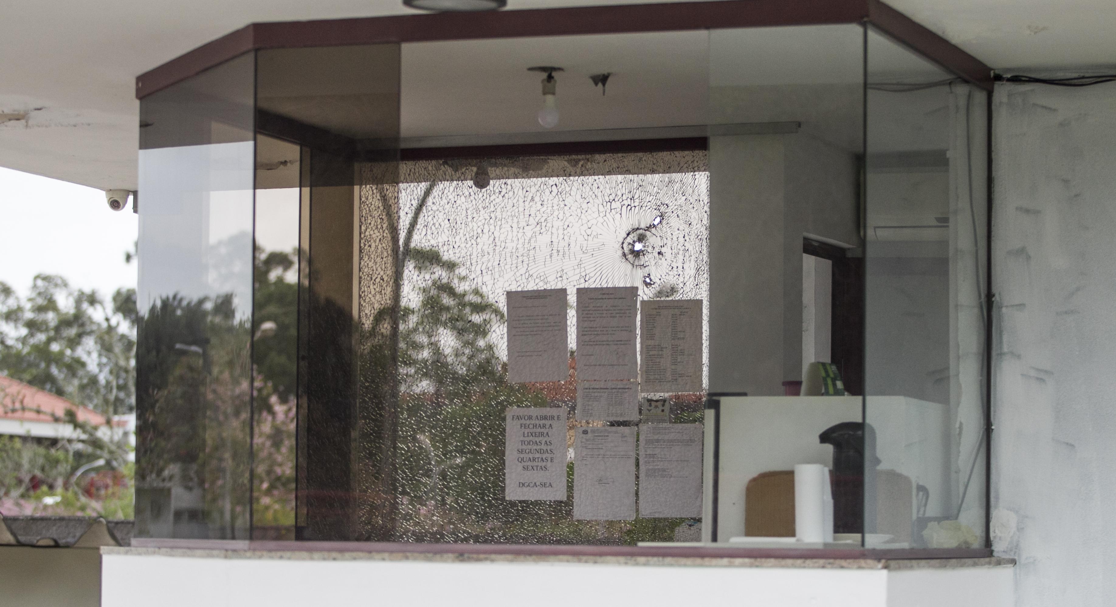 Ataque à guarita do Centro Administrativo de Santa Catarina - Marco Santiago/ND