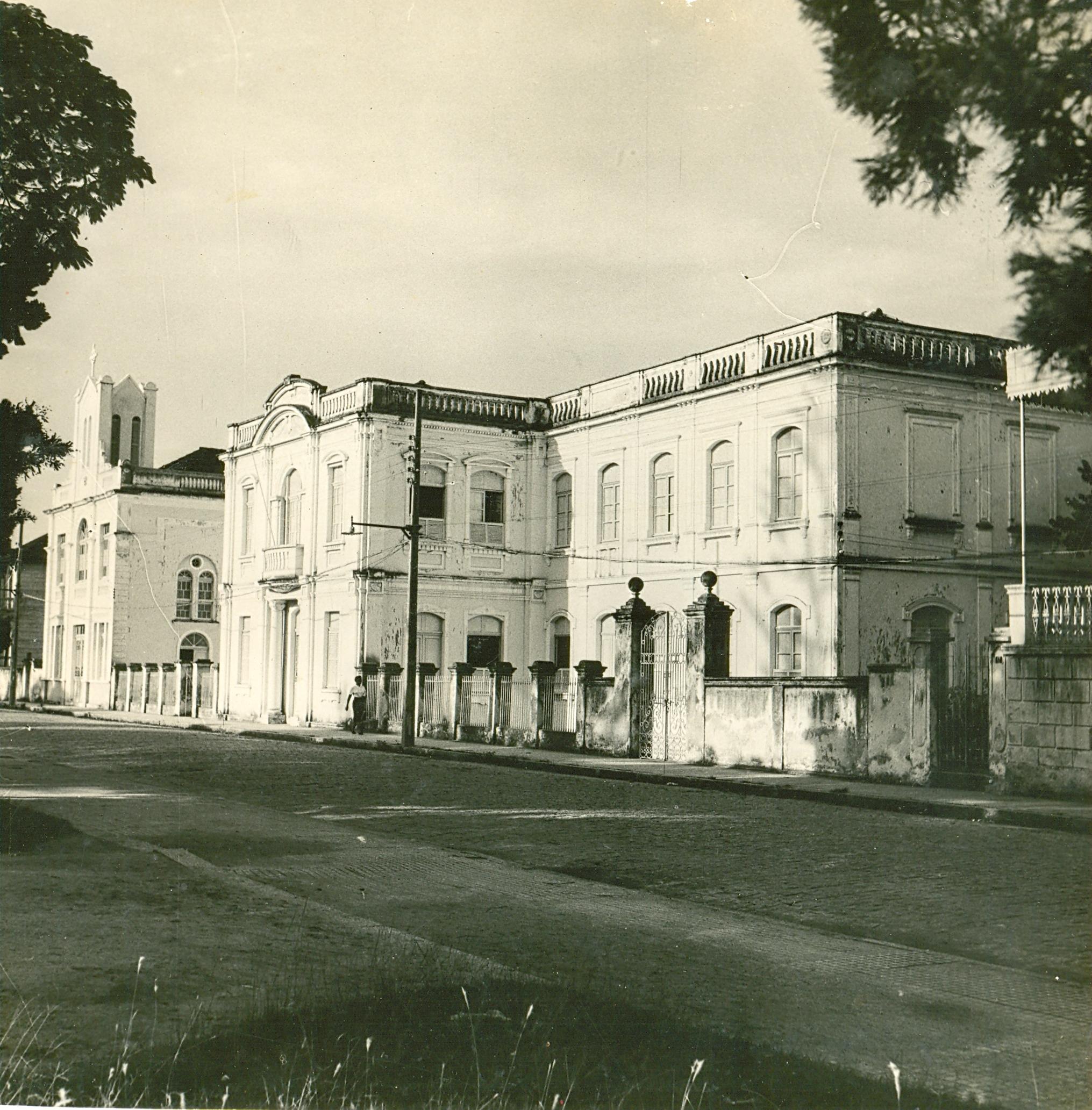 Inaugurado em 1910, o antigo asilo é hoje uma referência em ações de inclusão social e educacional - Acervo IDES