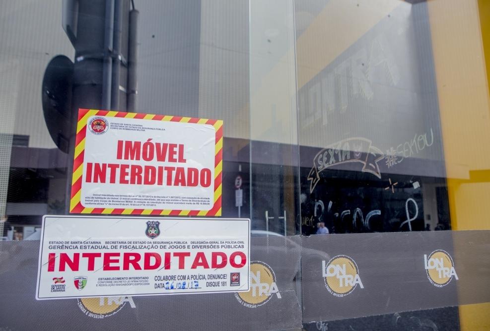 Lontra foi interditado no sábado - Flávio Tin/ND