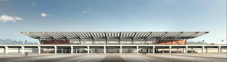 O novo terminal de passageiros - Divulgação/Zurich Airport/ND
