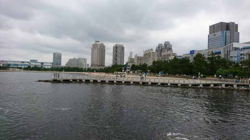 Odaiba Marine Park receberá duas modalidades olímpicas em Tóquio-2020 (Foto: Divulgação/Twitter)