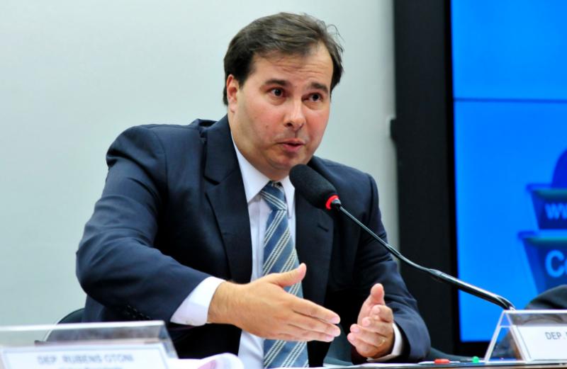 O presidente da Câmara Rodrigo Maia ressaltou o protagonismo dos deputados na votação da reforma da Previdência – Agência Brasil/ND