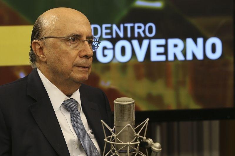 O ministro Henrique Meirelles concedeu entrevista ao programa Por Dentro do Governo, em Brasília - Antonio Cruz/ Agência Brasil