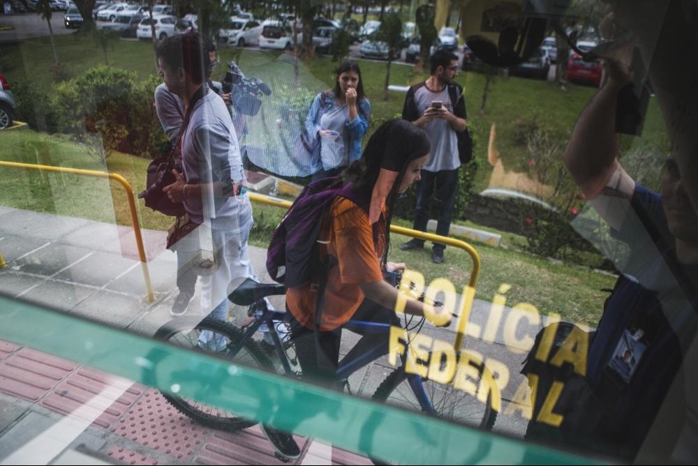 Operação Ouvidos Moucos investiga supostas fraudes na UFSC - Daniel Queiroz/ ND