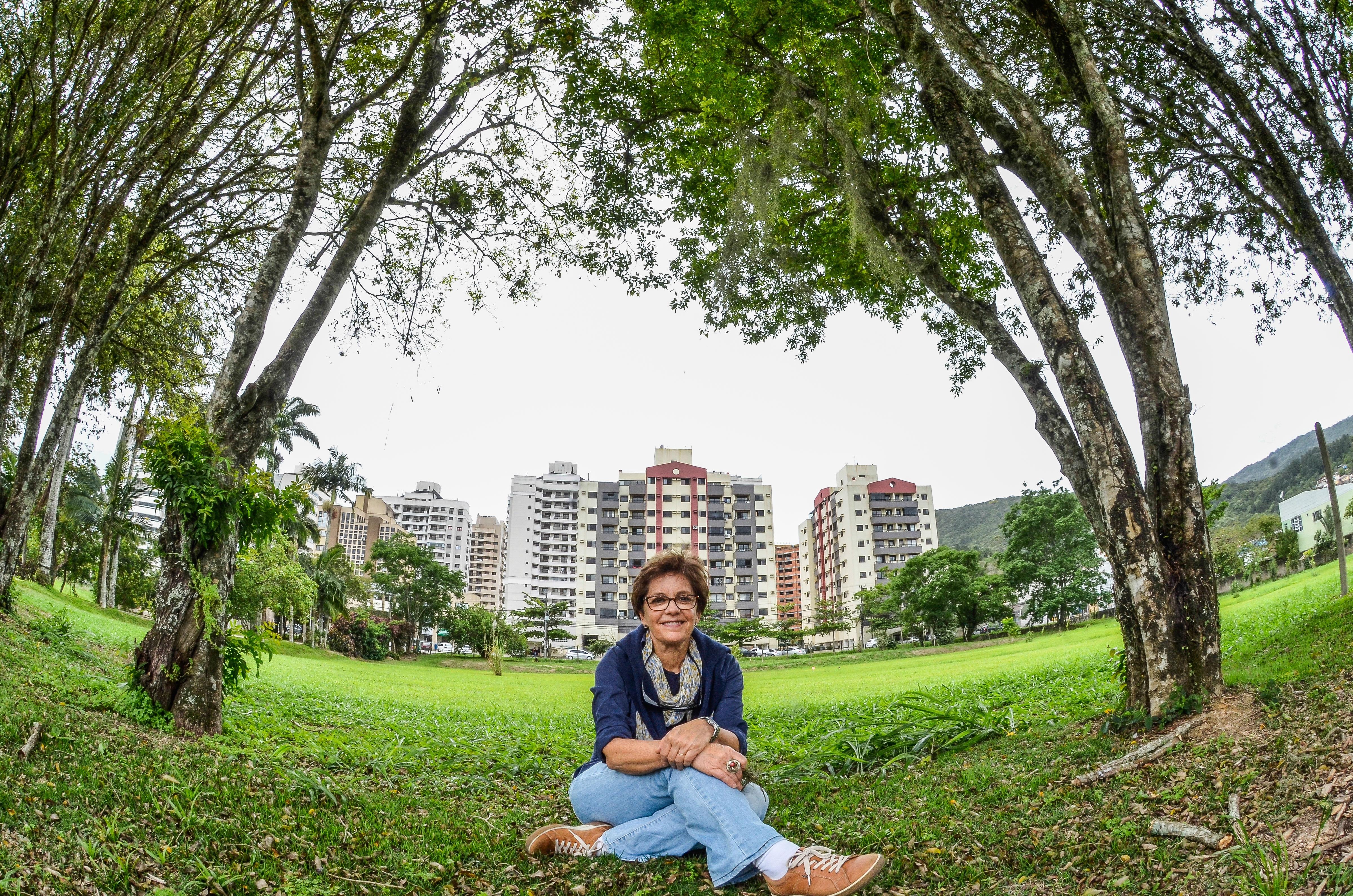 Cecília Herzog conheceu o Jardim Botânico de Florianópolis e fez algumas críticas ao novo parque da cidade - Joyce Reinert/ND