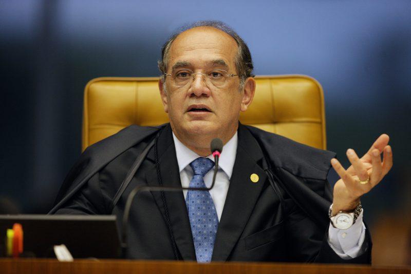 Gilmar Mendes suspendeu a liminar que paralisava investigações contra o senador Flávio Bolsonaro – Foto: Divulgação STF