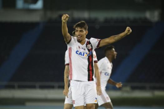 Paquetá em treino do Flamengo no palco do jogo desta quinta  -  (Gilvan de Souza / Flamengo)