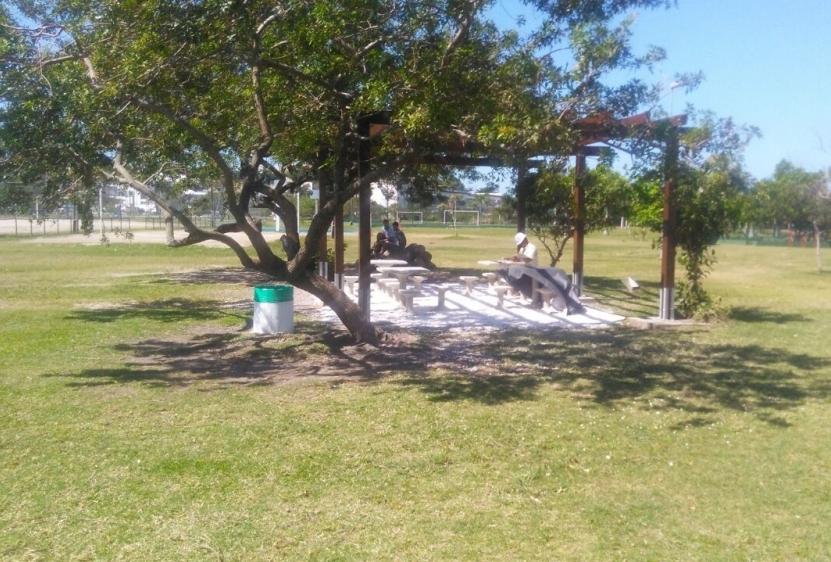 Parque dos Coqueiros em Florianópolis - Fabricio Jutino/ PMF