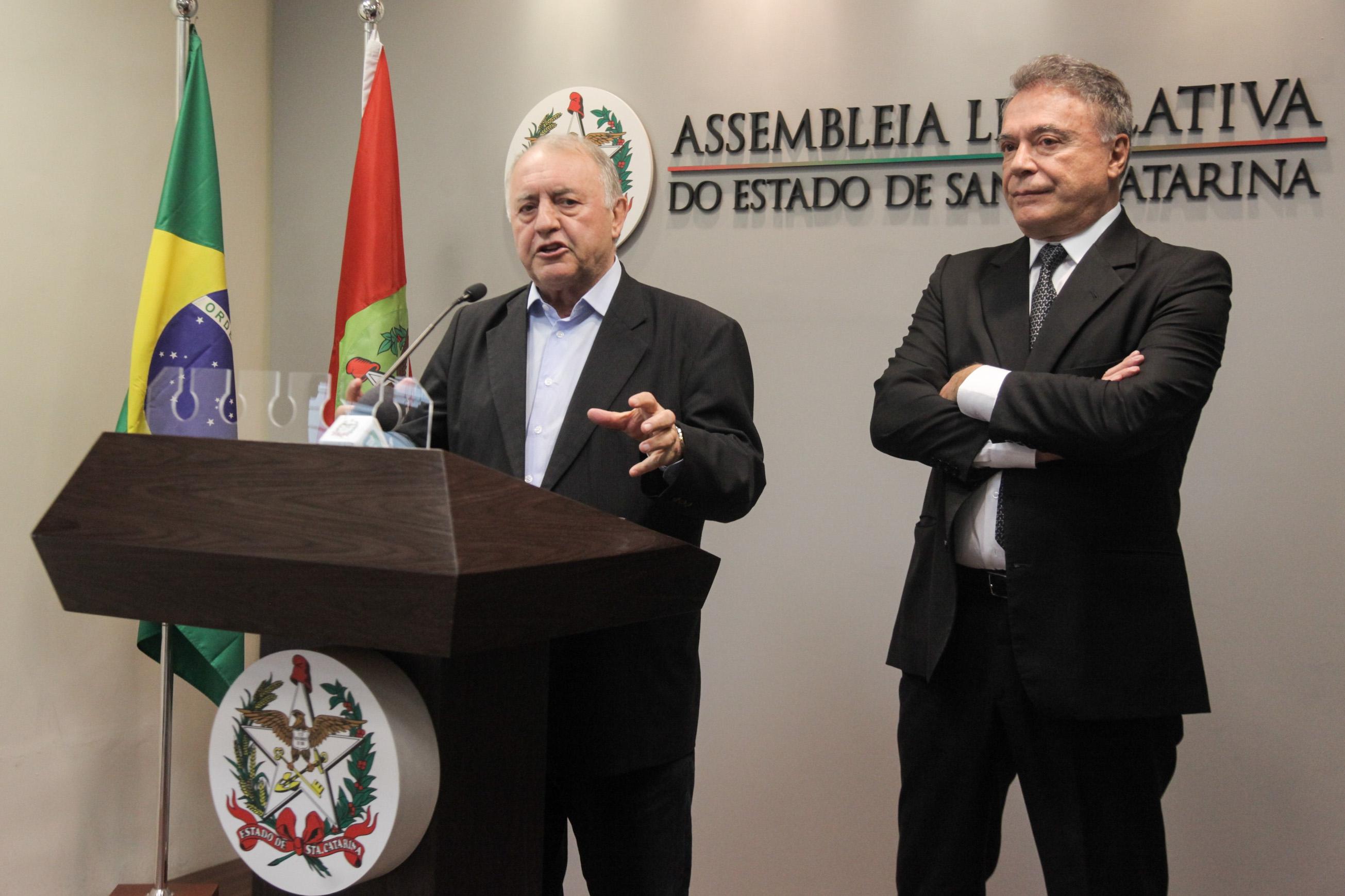 Natalino e Álvaro - Agência AL/ND