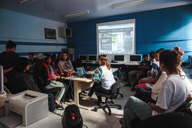 Plataforma Planeta na Escola dispõe de cerca de cem filmes para ensino e discussão em classe - Daniel Queiroz/ND