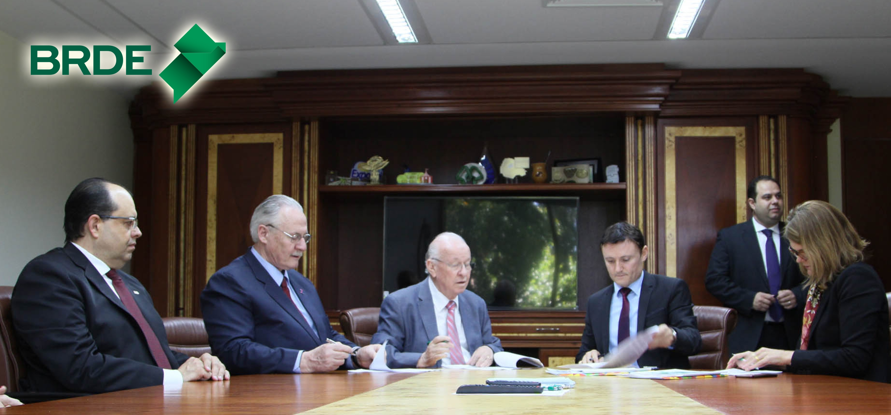 Acordo foi assinado na última semana, entre BRDE e ONU - Divulgação/BRDE