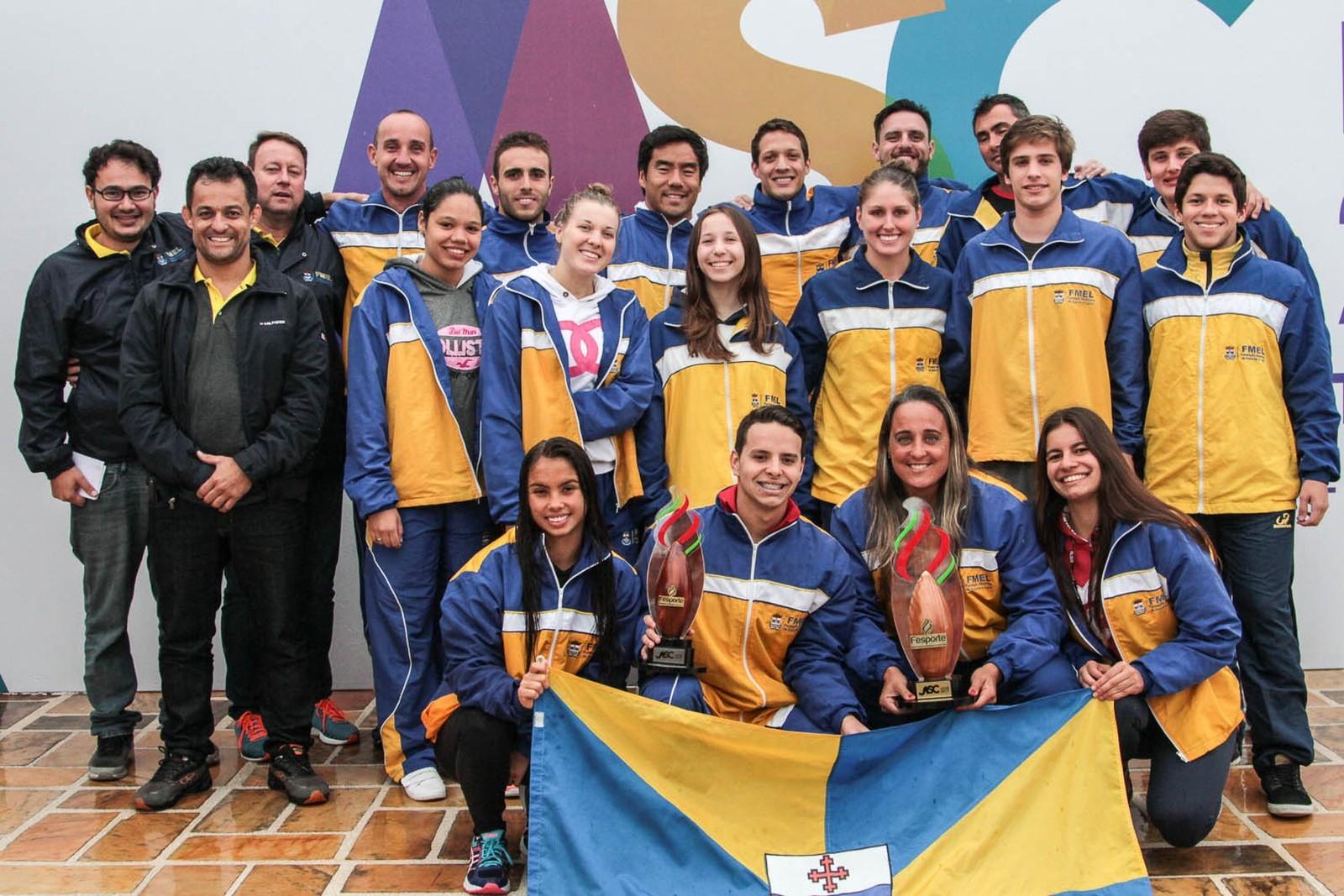 Itajaí garantiu o tricampeonato dos Jasc antes mesmo do fim da competição - Divulgação