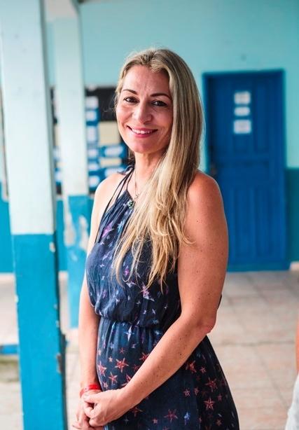 Mônica Linhares, diretora do Planeta.doc: audiovisual conversa com os jovens - Daniel Queiroz/ND