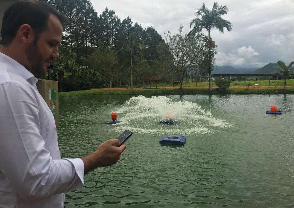 Startup que oferece sistema de controle e monitoramento da produção de peixes e camarões em cativeiro (www.io.fish) - Divulgação