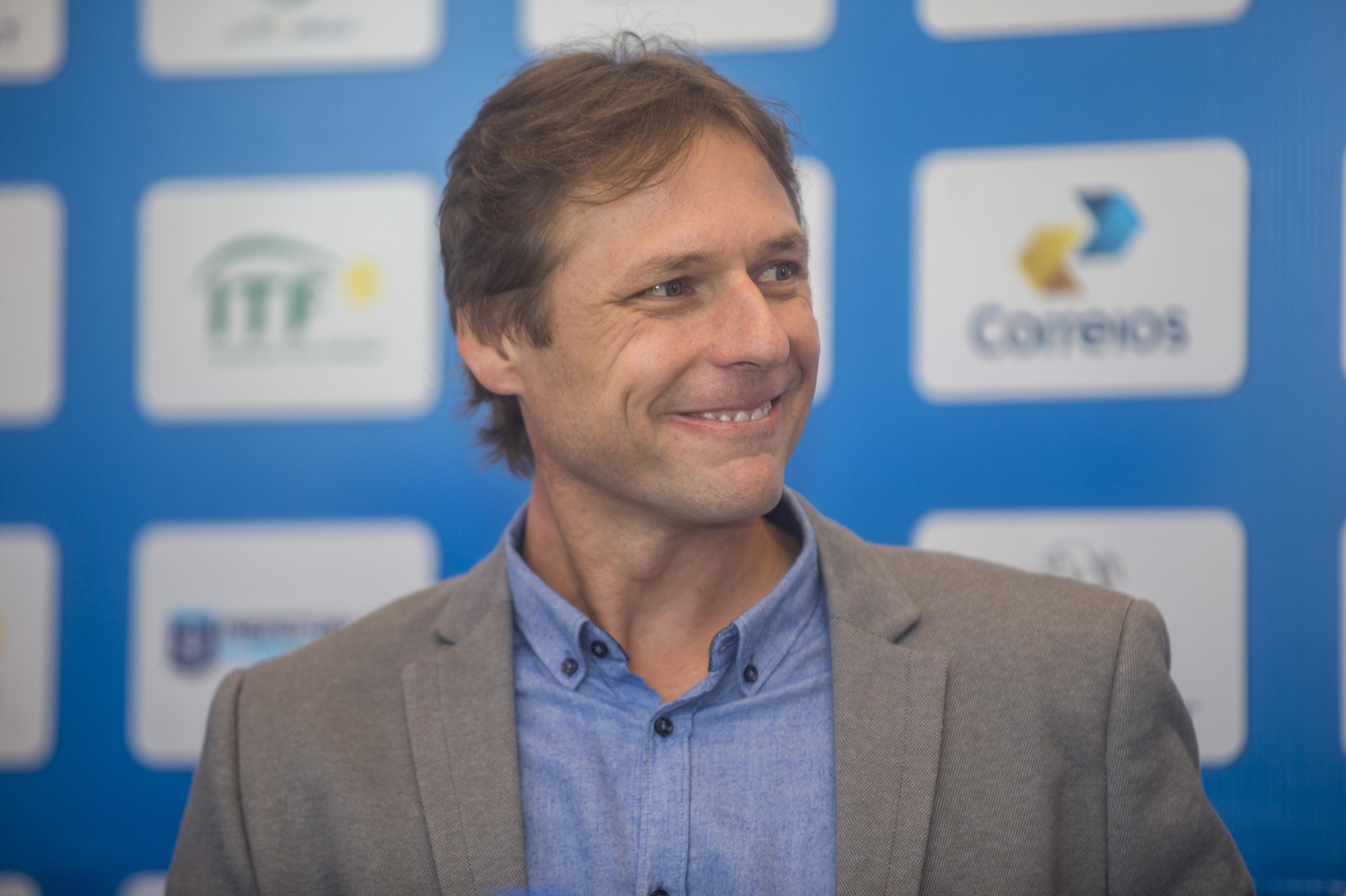Presidente da CBT, Rafael Westrupp, quer reunir as principais lideranças do tênis para alavancar o esporte - Flávio Tin/ND