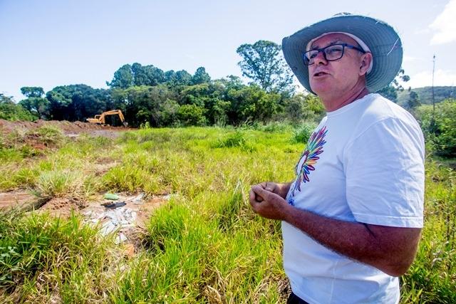Primeira etapa será entregue em setembro de 2018, diz André Vieira, presidente da associação de moradores - Flávio Tin/ND