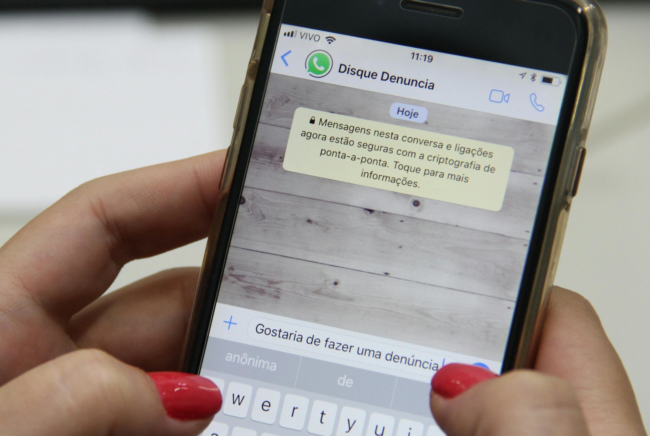 WatsApp Denúncia é uma das novidades da Polícia Civil de Santa Catarina - James Tavares/Secom