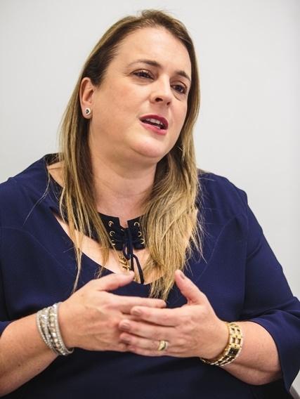 A juíza Andrea Haus Bunn não arrisca afirmar que a reforma trabalhista representa um avanço para o país - Daniel Queiroz/ND