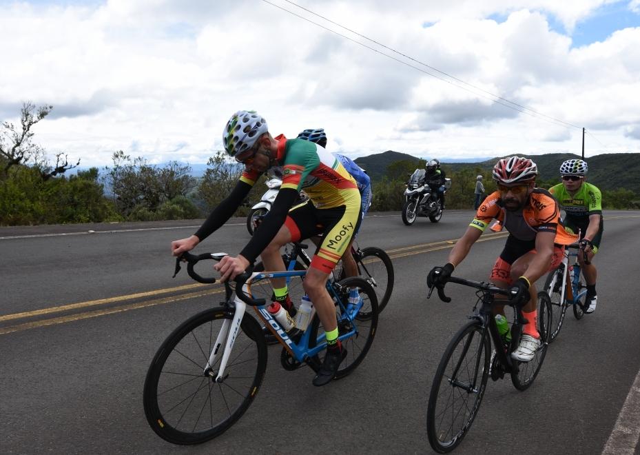 A prova de ciclismo foi realizada nos municípios de Lages, Rio Rufino, Urupema e Painel, na Serra catarinense - Antonio Carlos/ Mafalda Press/ Divulgação/ ND