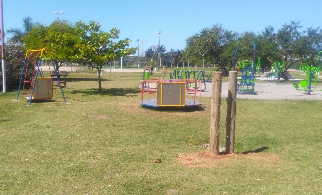 Parque de Coqueiros - Fabricio Justino/ PMF