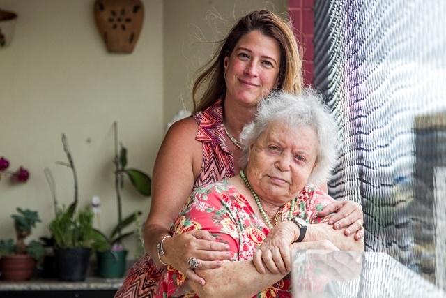 Jackie ouviu os relatos da mãe durante e após a guerra - Marco Santiago/ND