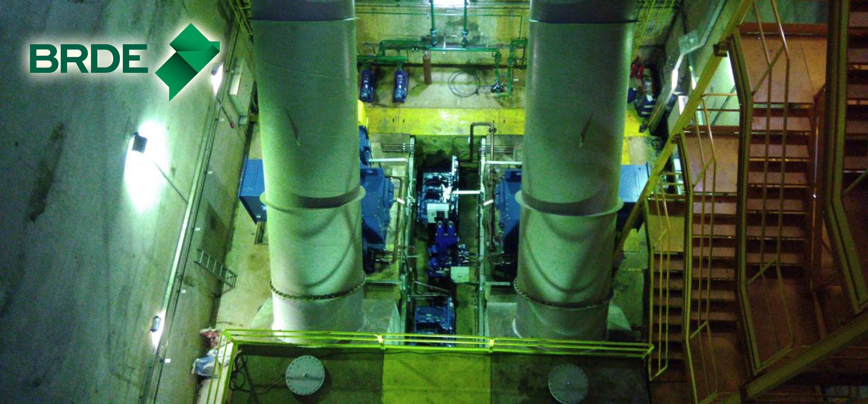 A  CGH Aparecida tem potência instalada de 3,00 MW, com duas unidades geradoras de 1,5 MW do tipo francis horizontal e com garantia física de energia de 1,538 MW - Divulgação Brasil Sul Energia