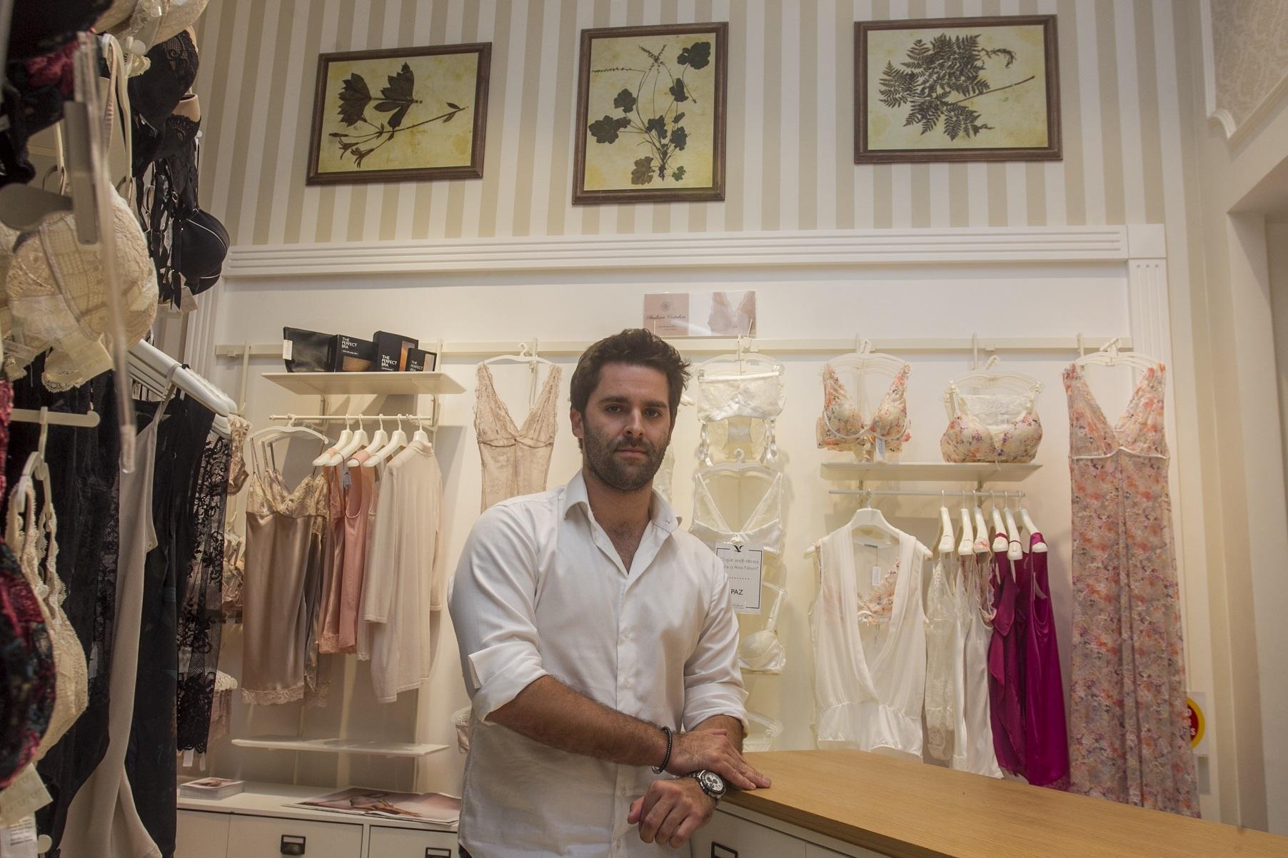 Empresário Bruno Di Napoli observa um mercado amplo para a marca italiana - Marco Santiago/ND