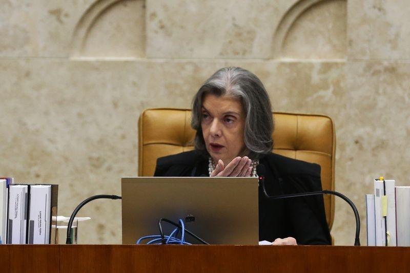 Presidente do Conselho Nacional de Justiça (CNJ) e do Supremo Tribunal Federal (STF), ministra Cármen Lúcia - Antonio Cruz/Agência Brasil